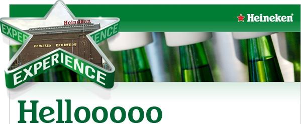 Heineken Header