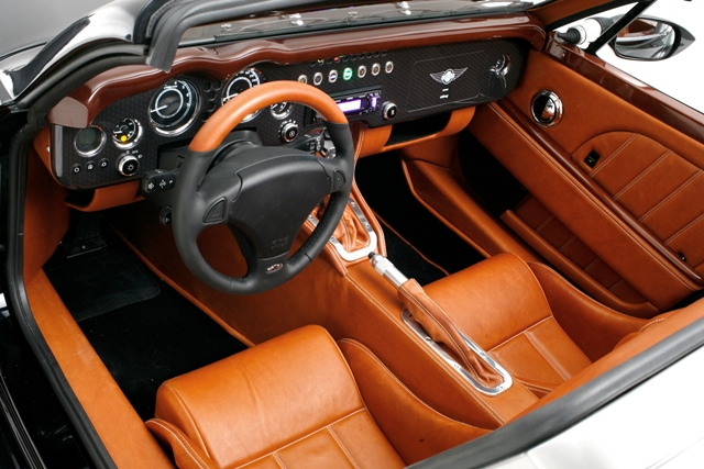 SuperSport interior