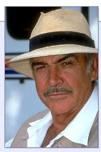 Connery in Panama Hat