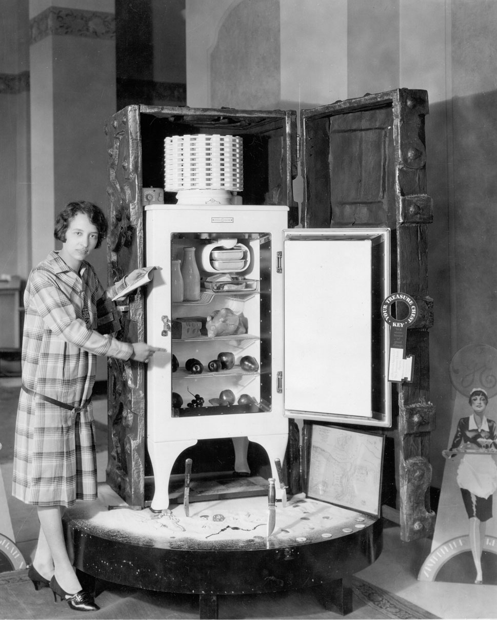 GE Monitor-top Refrigerator, 1929