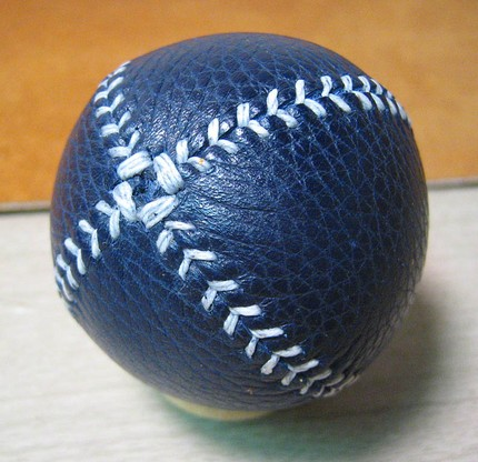 Blue & White Lemon Ball