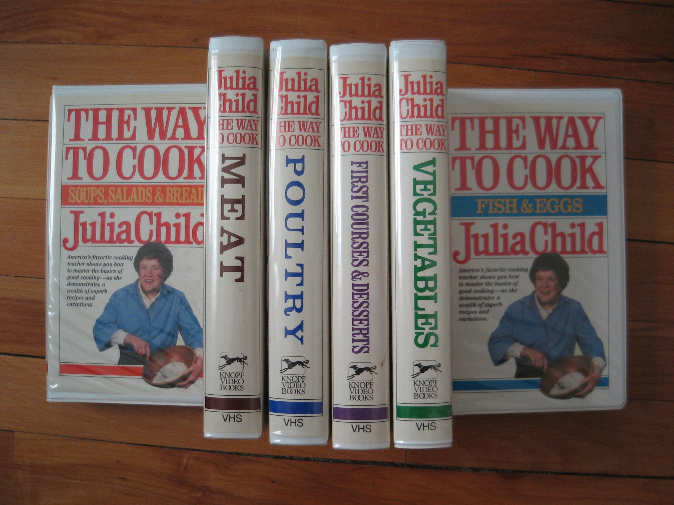 Julia Child Videos